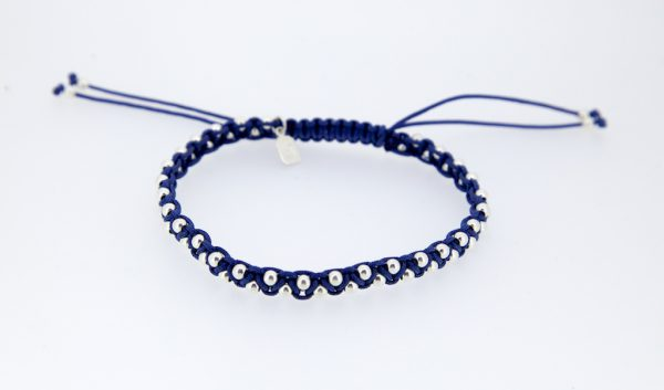 GJ Dada Sister Bracelet Blue and Silver