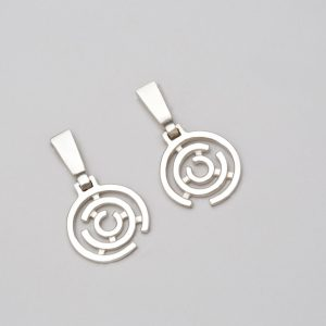 425c50582 'The Continuum' Sterling Silver Earrings. 74.27€ Sold By:Geronimo Jones