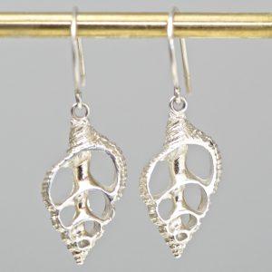 55560ef8d Sterling Silver Cut Shell Earrings. 106.62$ Sold By:Geronimo Jones